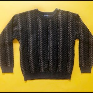 VTG 90s Acrylic Knit Abstract Sweater